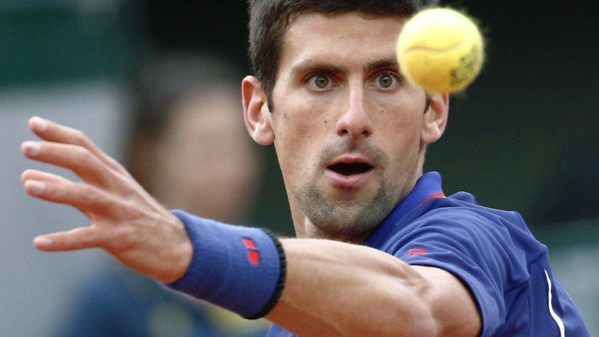 1. Novak Djokovic Tennis Court