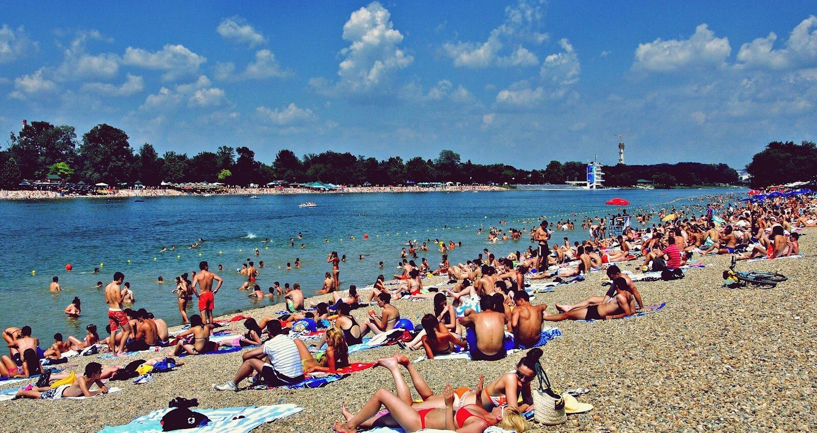 Summer is the best time to visit Belgrade. iBikeBelgrade.