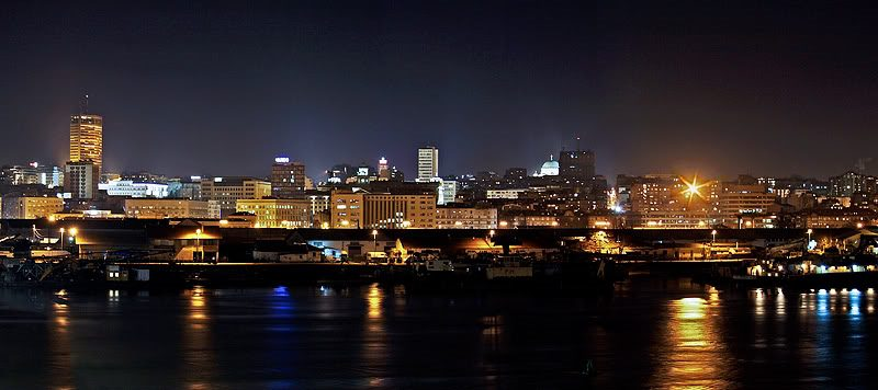 Belgrade at night. iBikeBelgrade. Photo by: Jovana Daljević