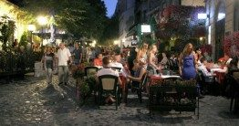 Belgrade is one of the most affordable cities to dine out it. Skadarlija. iBikeBelgrade. Photo by:  Novosti.rs