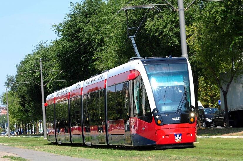 Belgrade has a solid public transport system. iBikeBelgrade. Photo by: Blic.rs