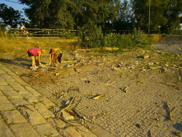 Cleaning the Sava River 2013