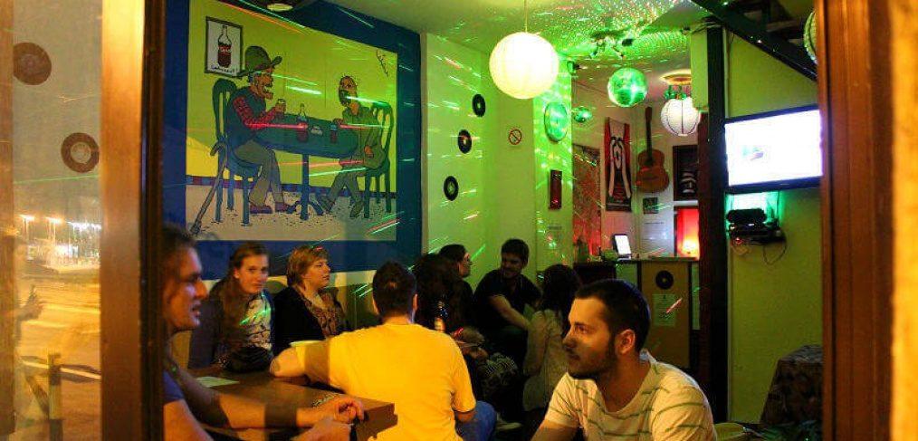 Green Studio Hostel Lounge in Belgrade