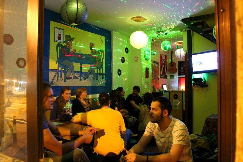 Green Studio Hostel Lounge in Belgrade