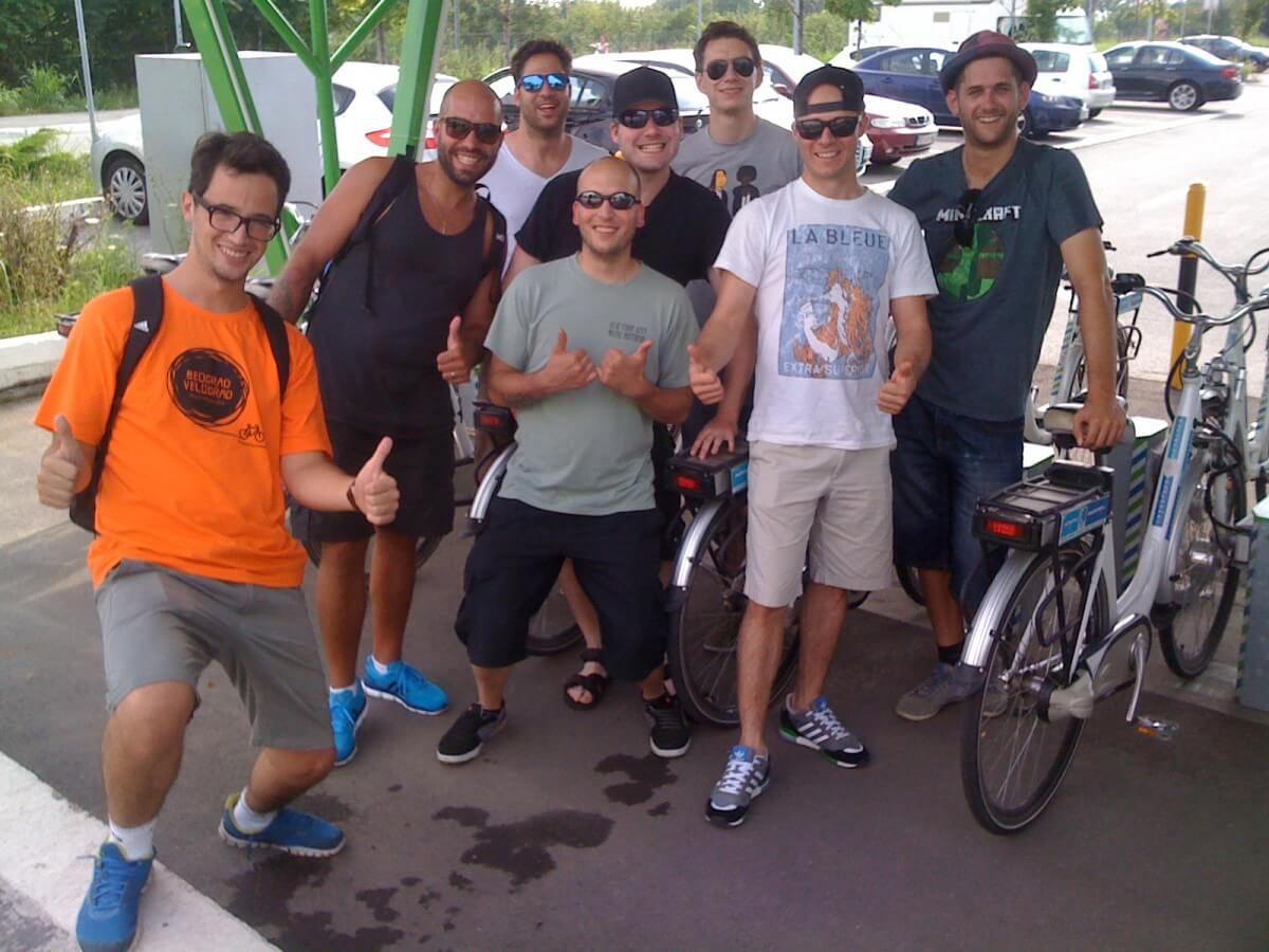 eBike tour with guide Dusan and crazy Dutch guys