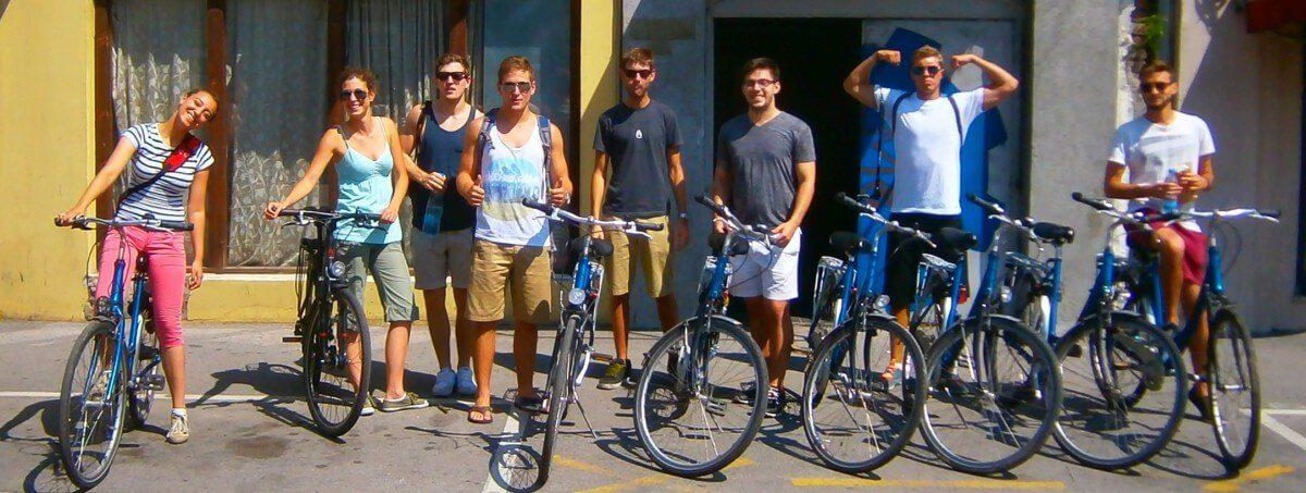 US guys on iBikeBelgrade Tour