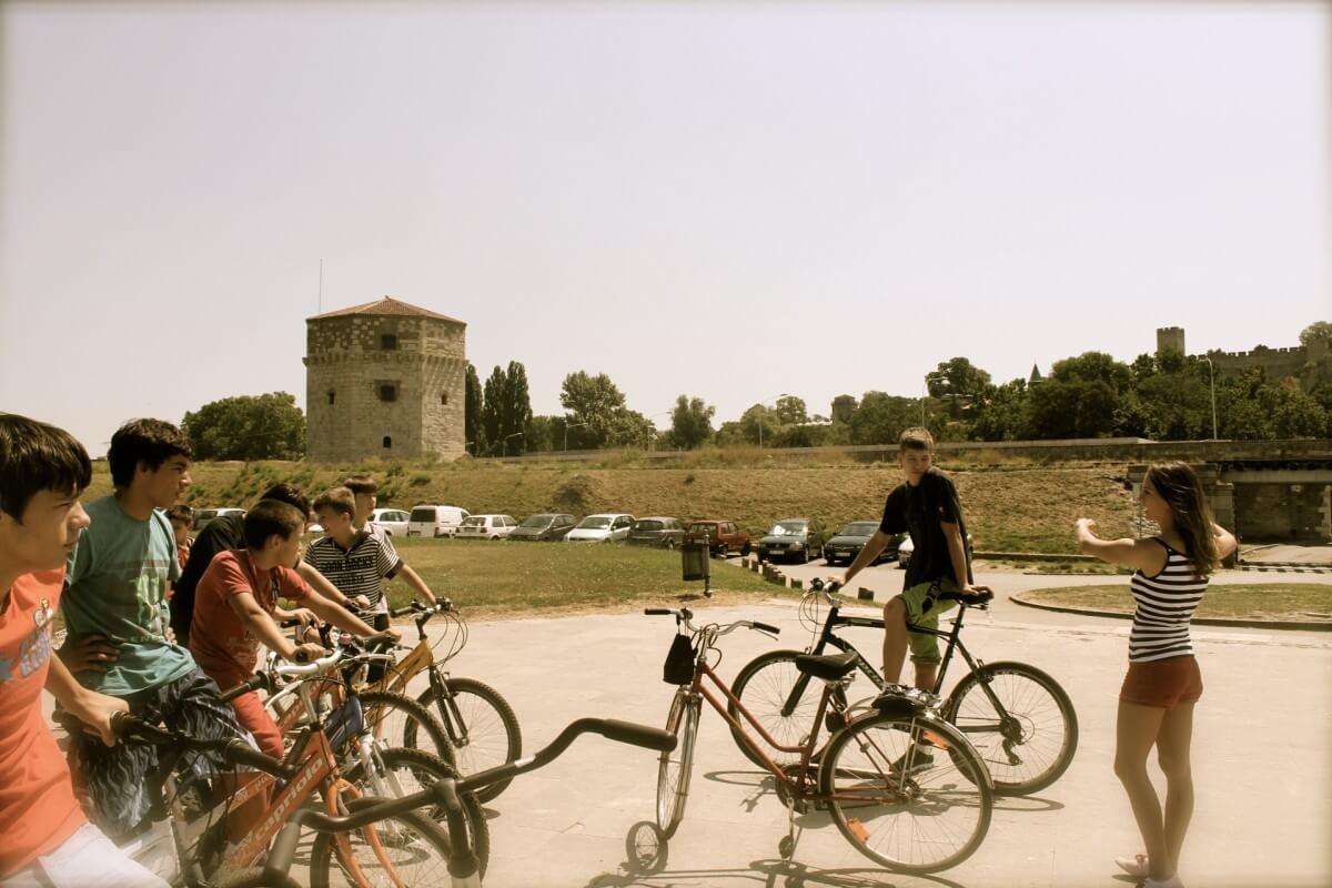 iBikeBelgrade ride with orphanage 5