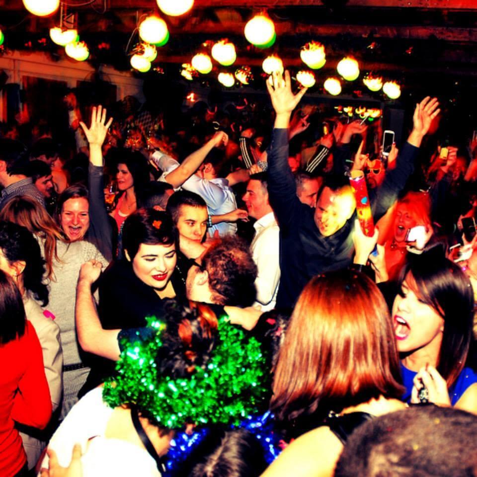 Peron Savamala New Year's Eve Belgrade