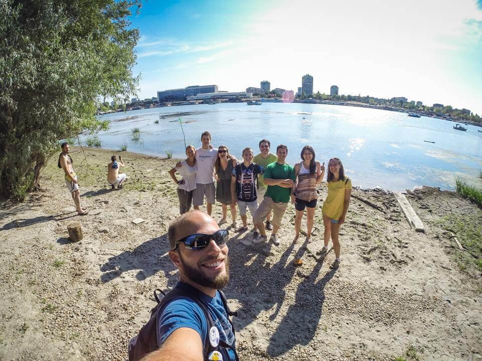 The Great War Island in Belgrade guide excursion by Bogdan Spasojevic